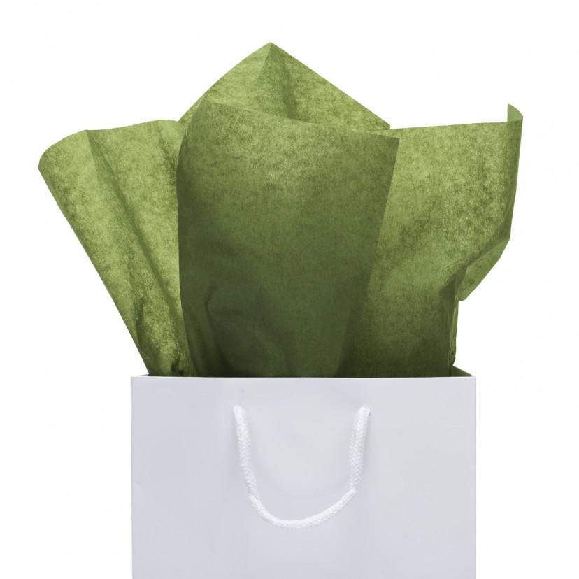 Carta Velina  Verde Bosco