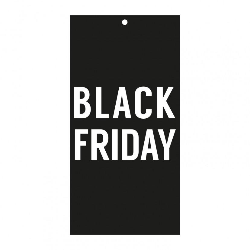 Cartellino Sconto Black Friday