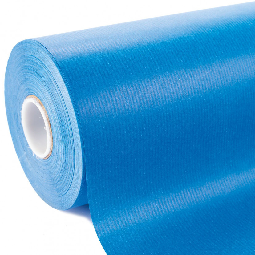 Bobina Carta Sealing Colorata Azzurro