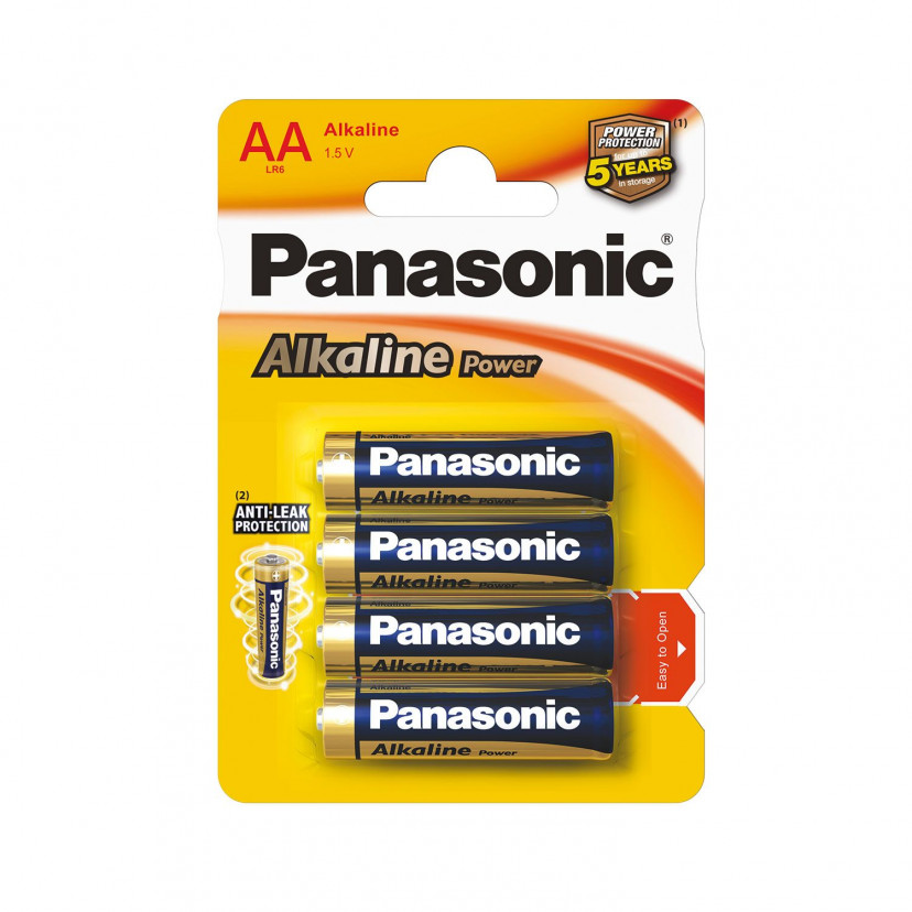Batterie Alkaline Stilo Panasonic