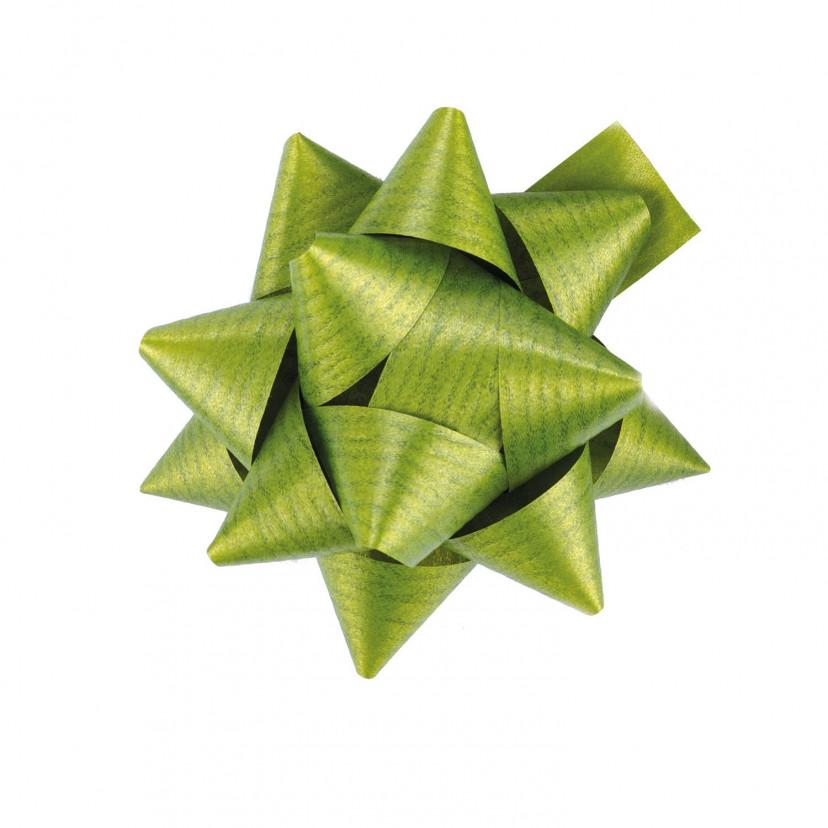 Coccarde Effetto Legno Verde Bosco
