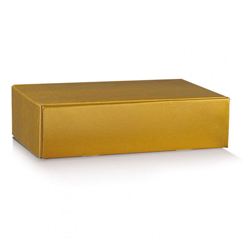 Cofanetto Portabottiglie Skin Gold Oro
