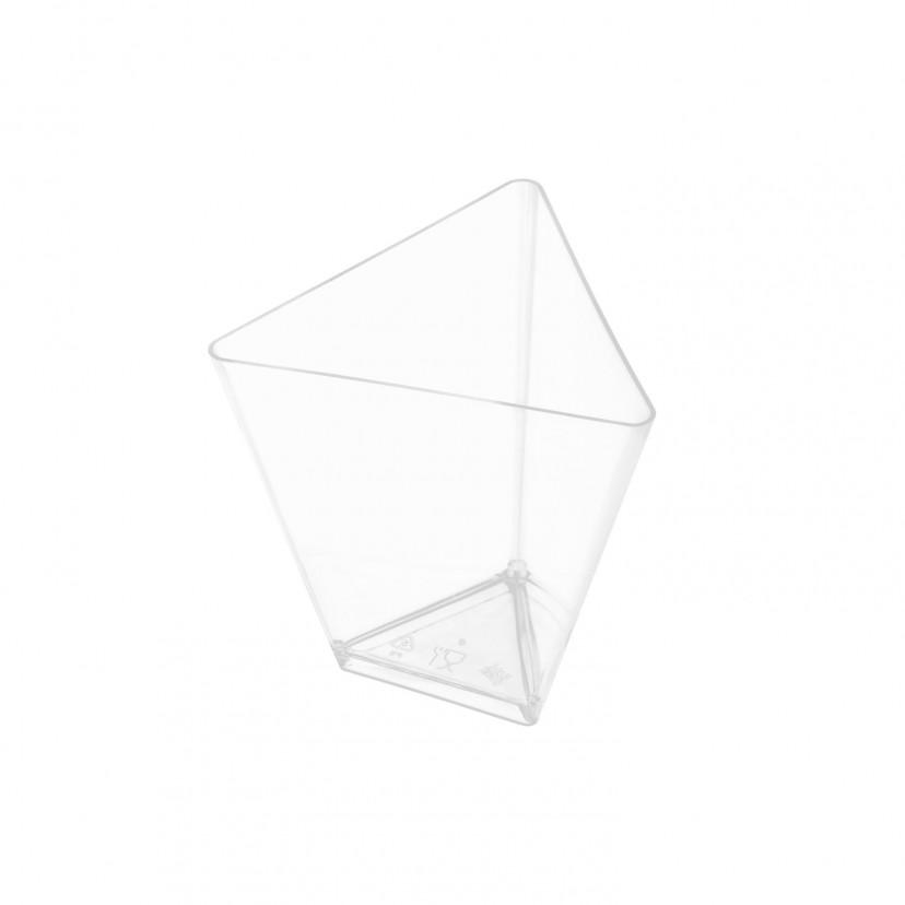 Coppetta Triangolo Trasparente