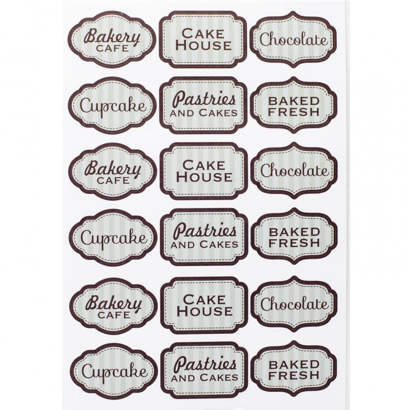 Etichetta Adesiva Bakery Mix