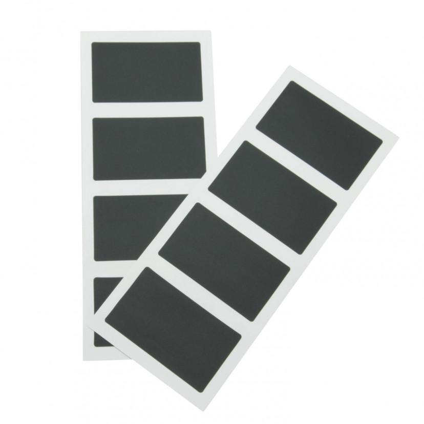 Etichette Adesive Lavagna Rettangolari