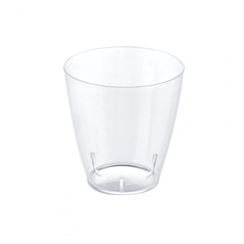 Bicchierino Punto Trasparente