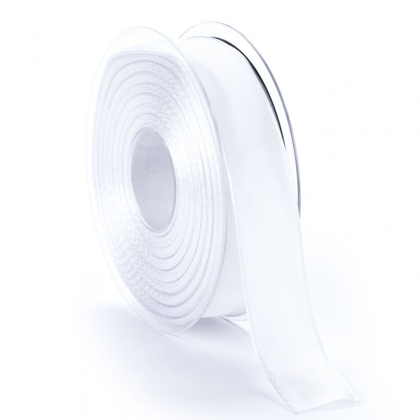 Nastro Raso Animato Bianco