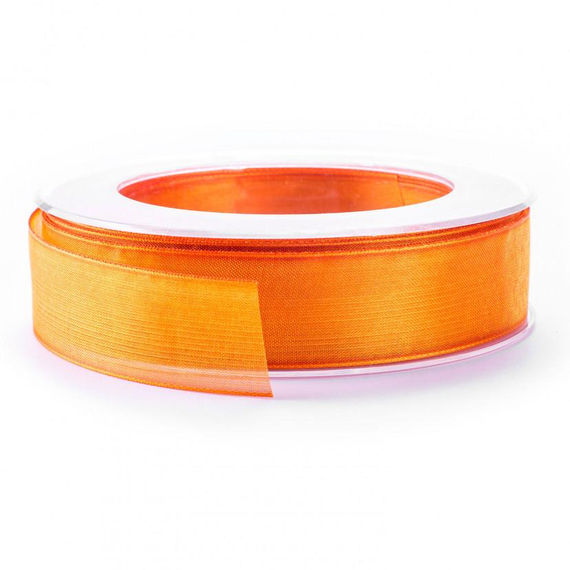 Nastro Organza Animato Arancio