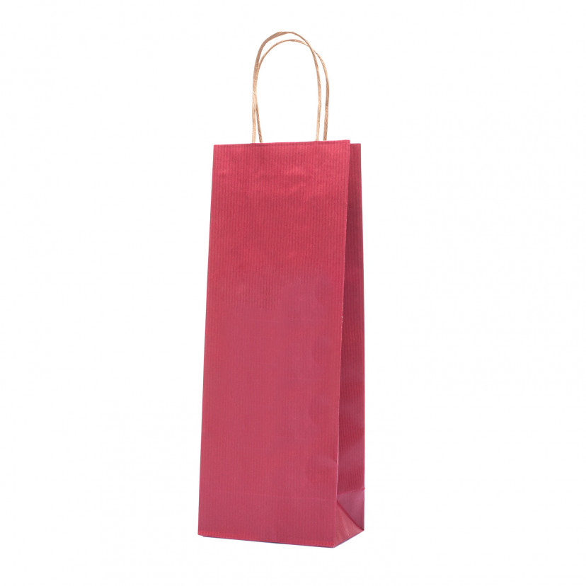 Shopper Biokraft Linea Basic Bordeaux