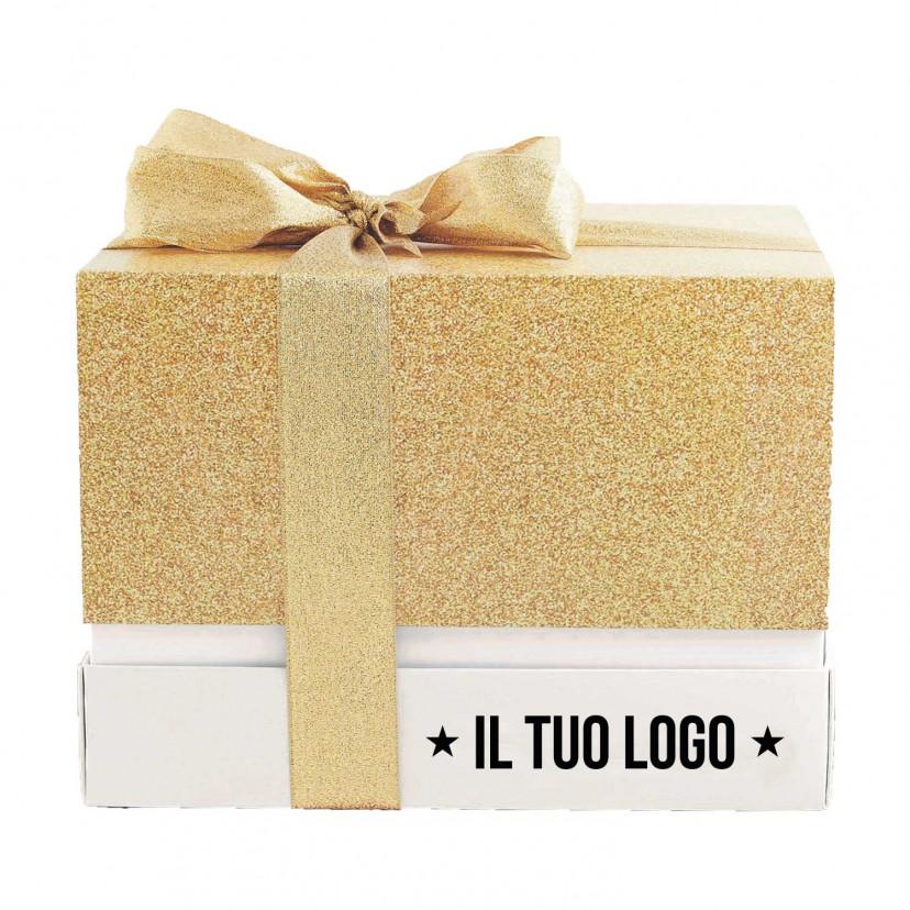 Portapanettone Color Christmas Personalizzato
