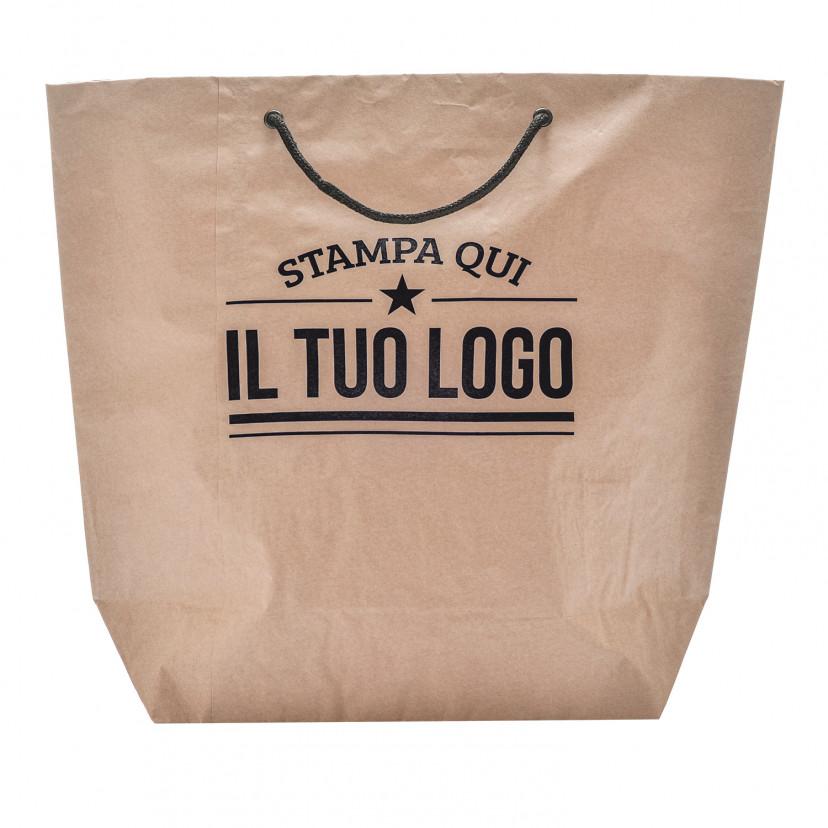 Shopper Carta Cemento personalizzata