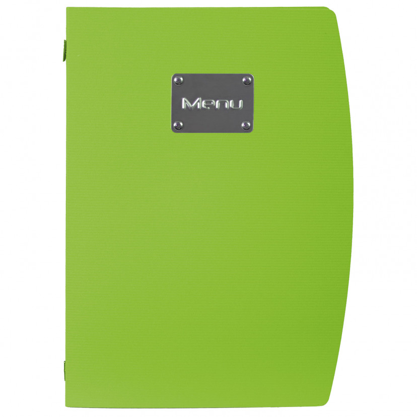 Portamenù Plastica Colorata Verde