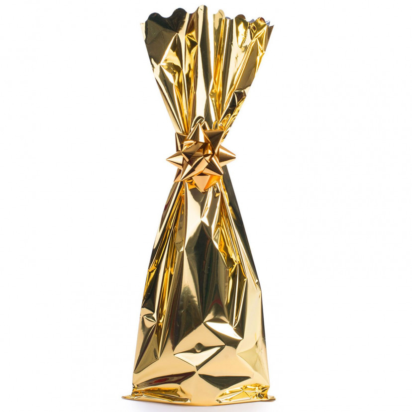 Sacchetti Portabottiglie metal lucido Oro