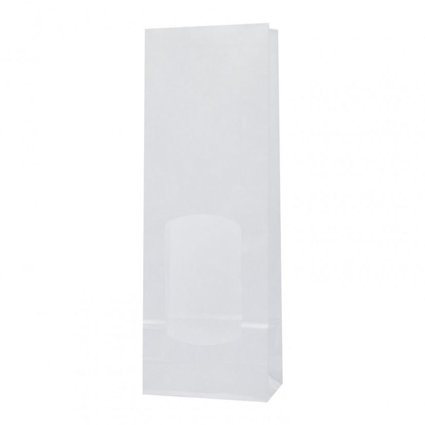 Sacchetti per alimenti con finestra Bianco