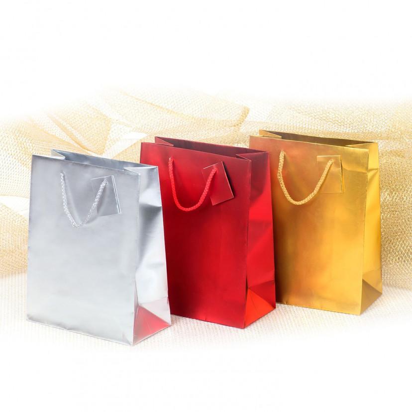 Shopper Carta Metal Opaco  Mix