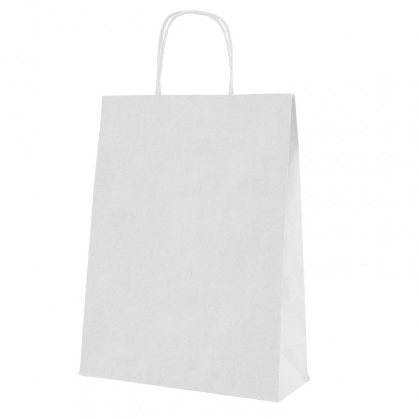 Shopper Carta White cordino Bianco