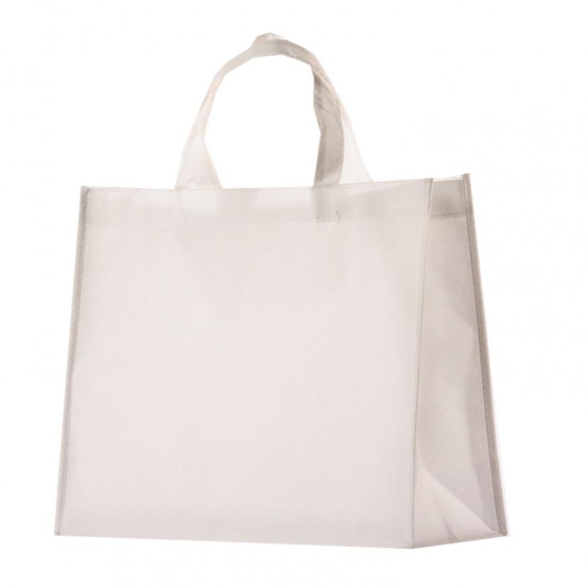 Shopper TNT Colorato Bianco