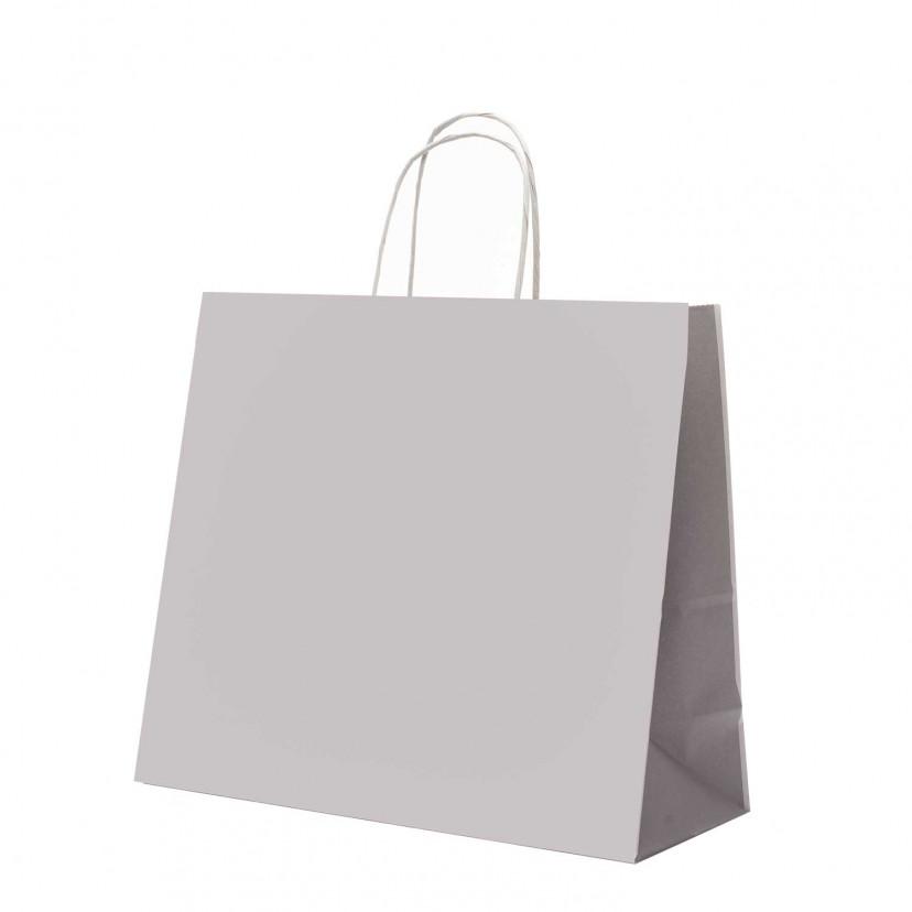 Shopper Carta Duo Grigio