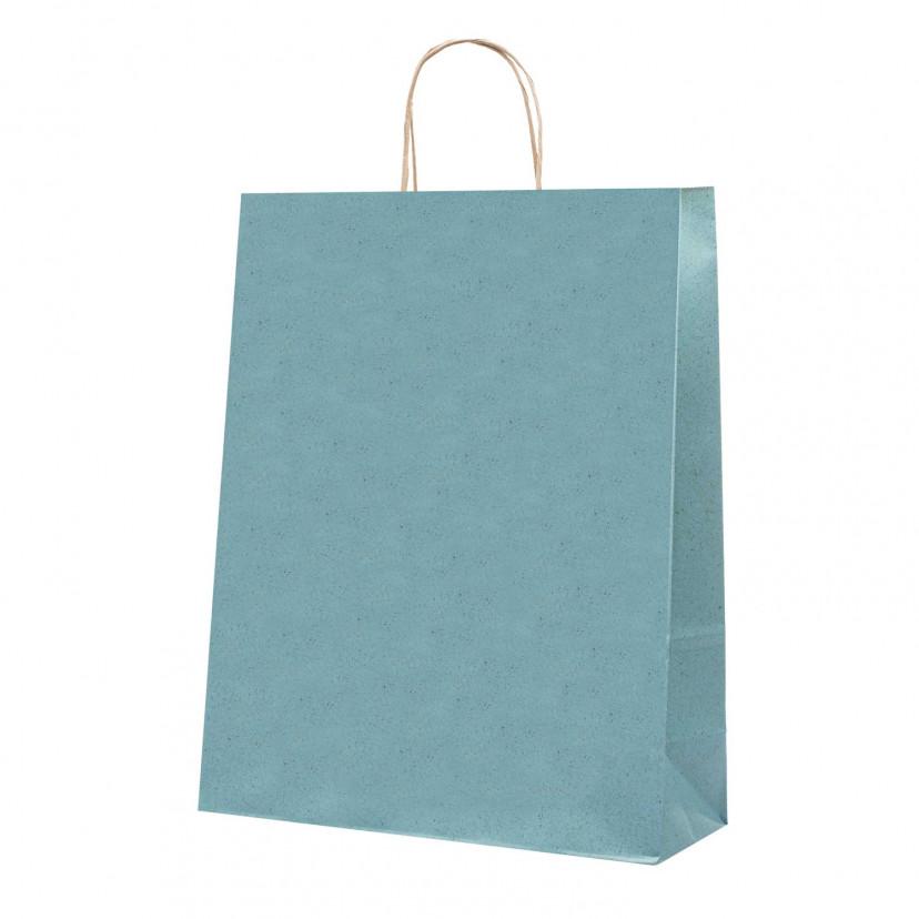Shopper Carta Erba Azzurro