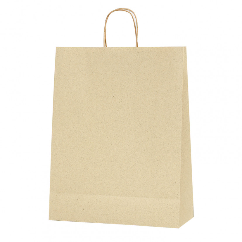 Shopper Carta Erba Naturale