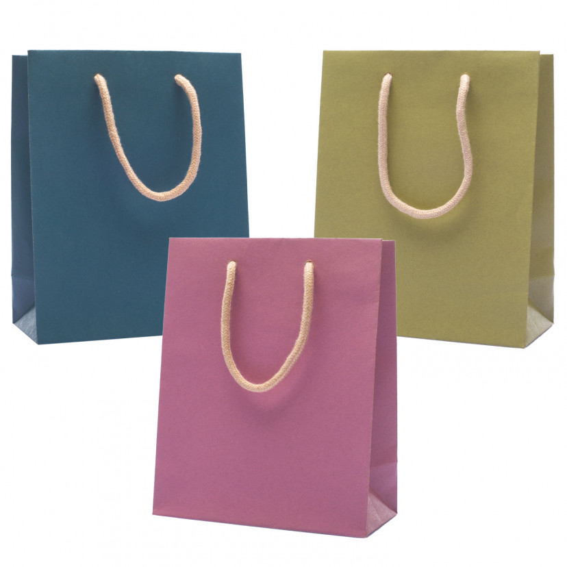 Shopper Carta Kraft Colors Verticali Mix