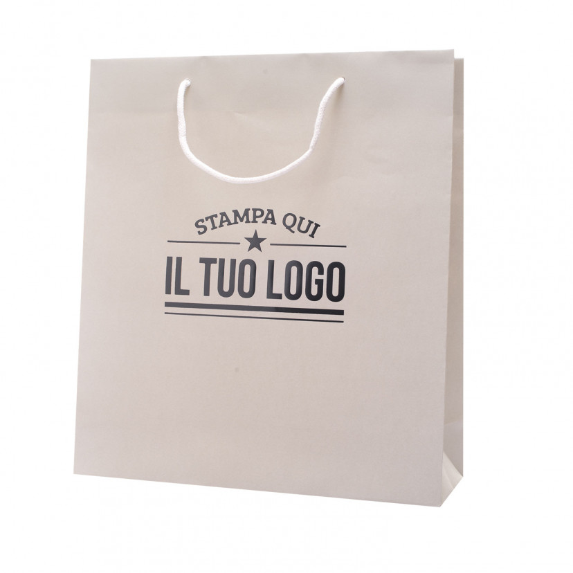 Shopper Carta Lusso Boutique Personalizzata