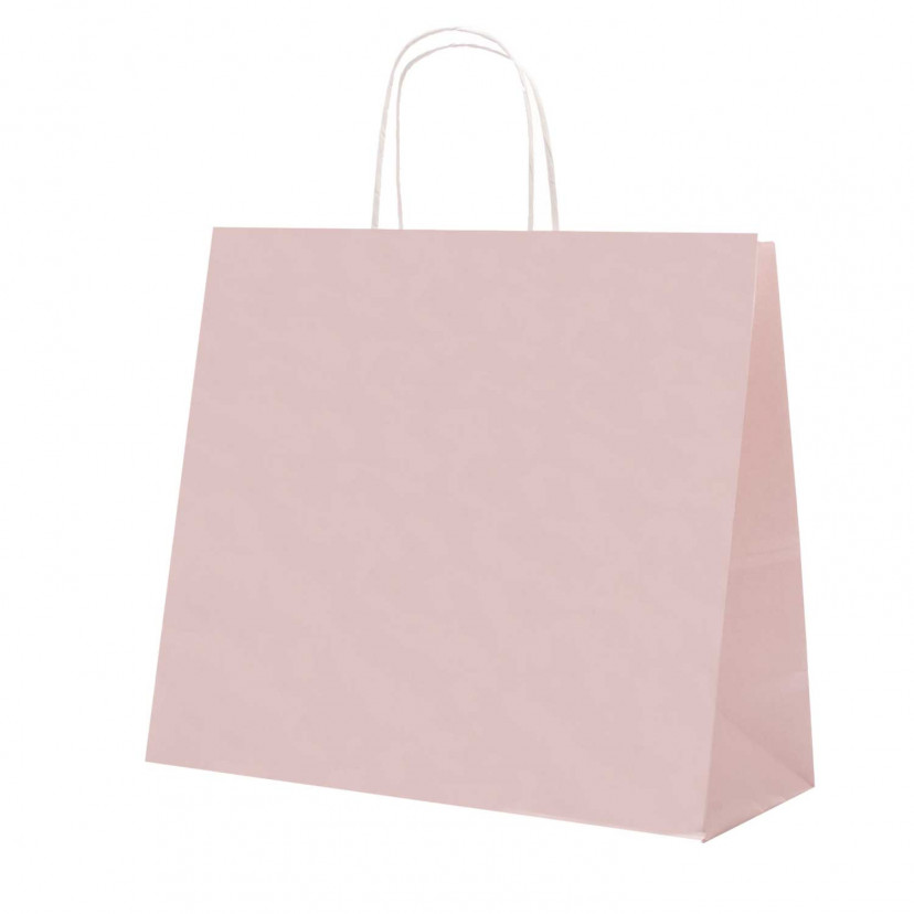 Shopper Carta Pastello Rosa Antico
