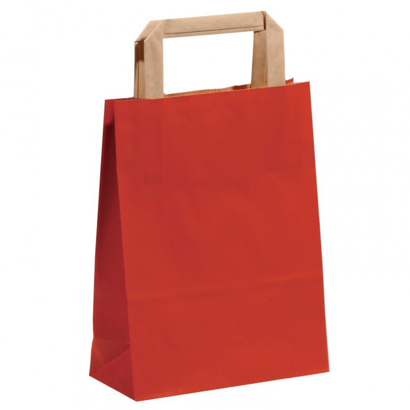 Shopper Carta Sealing Colorata Rosso