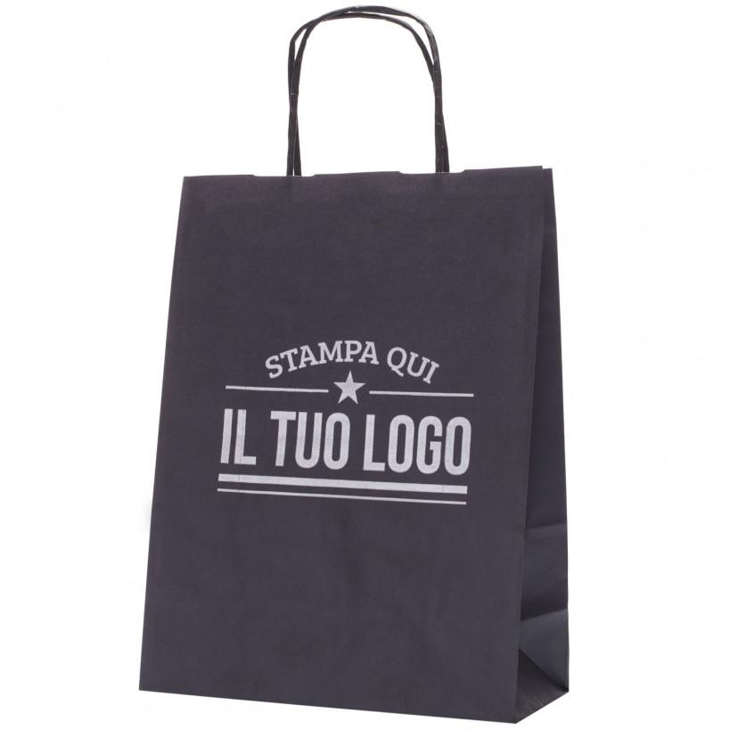 Shopper Colorata Manico Cordino Personalizzata