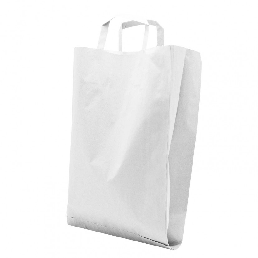 Shopper Flat Bag Bianco