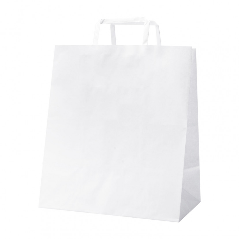Shopper White Food Line Bianco