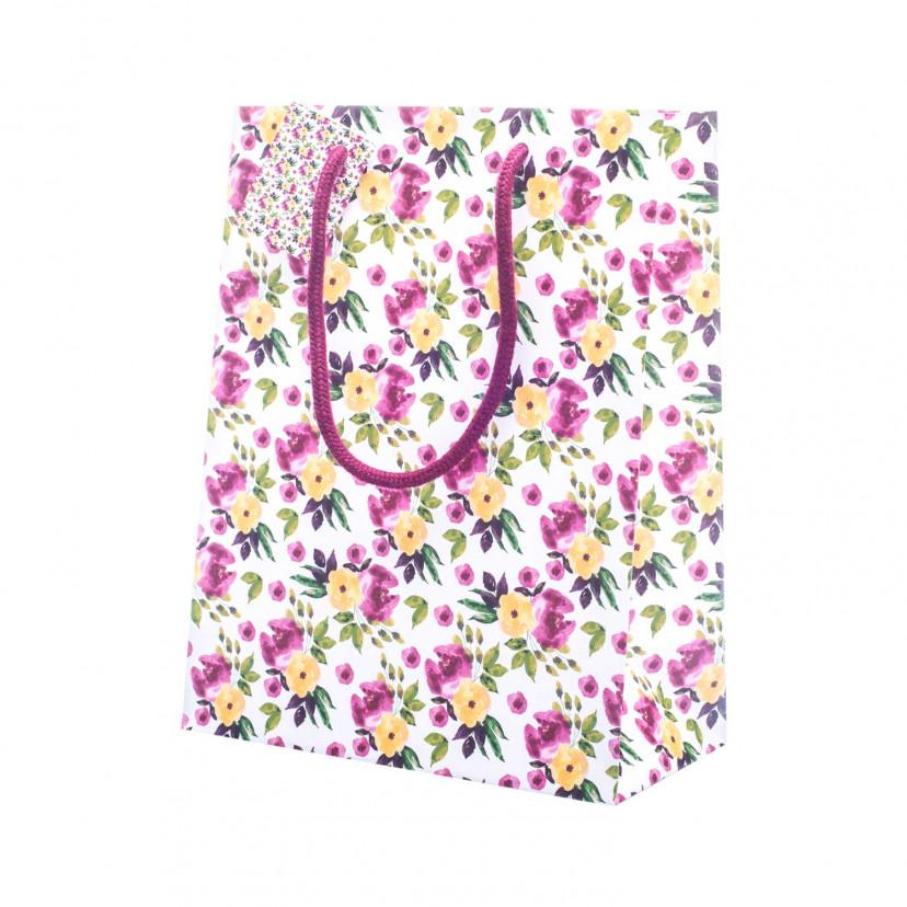 Shopper Carta Small Flower Mix singola