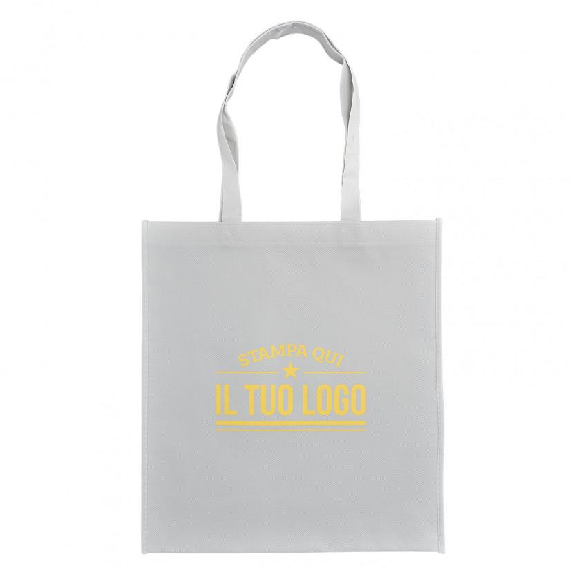 Shopper TNT Manico Lungo Personalizzata