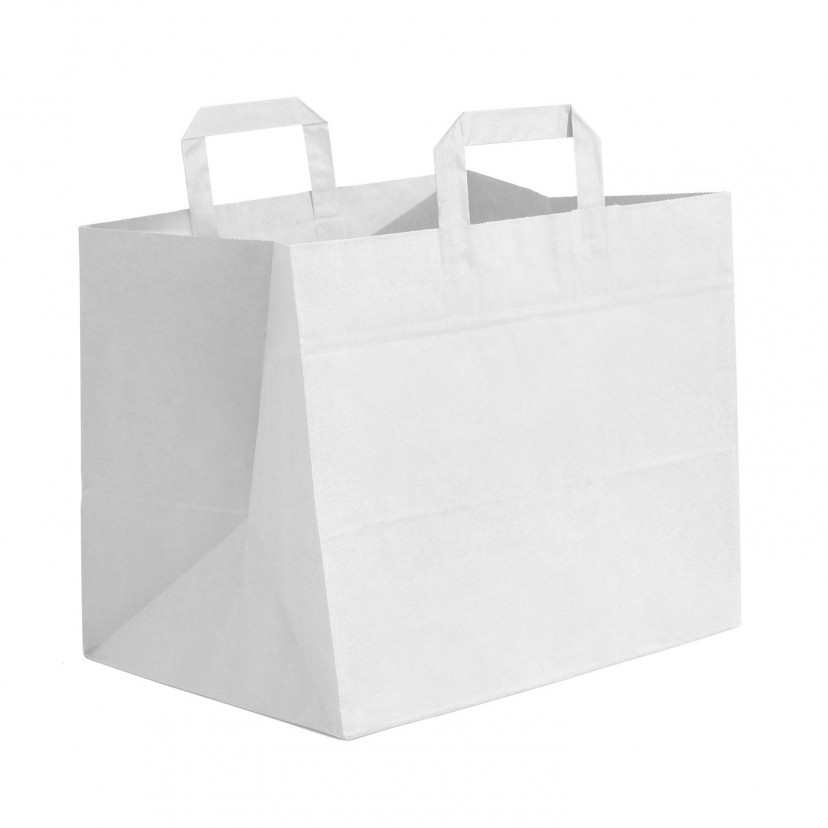 Shopper Kraft Food Line Maxi Bianco