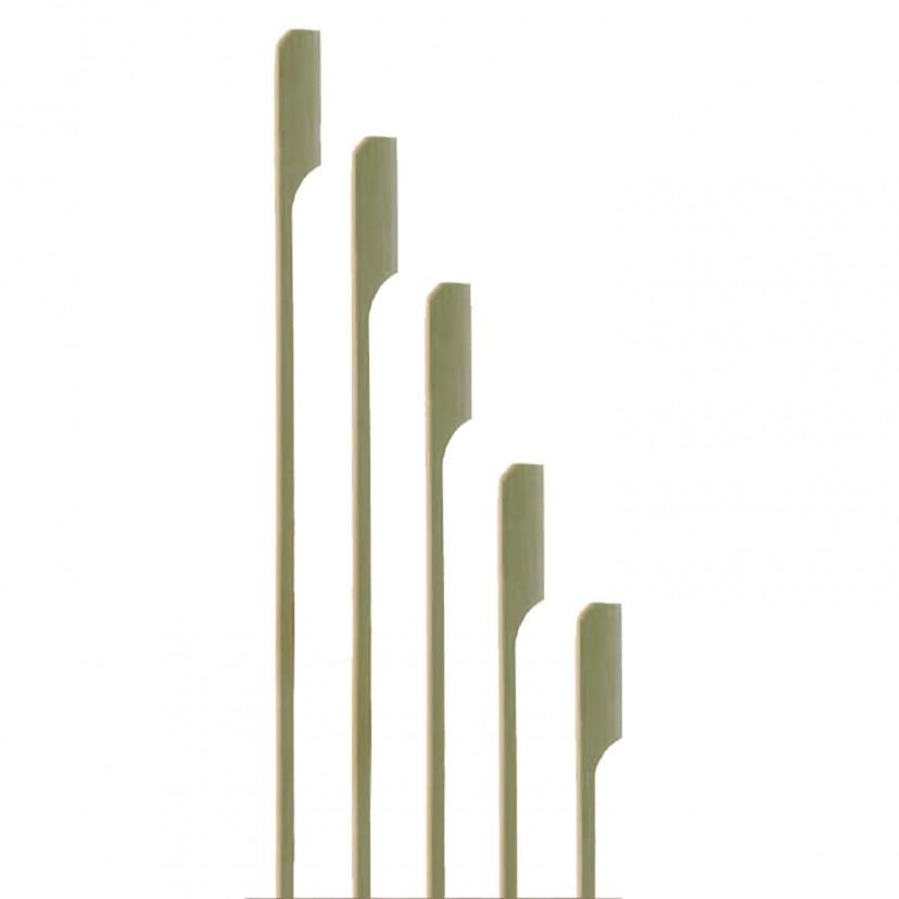 Spiedino in bambù a bandiera