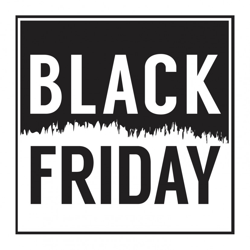 Vetrofania Black Friday Grande