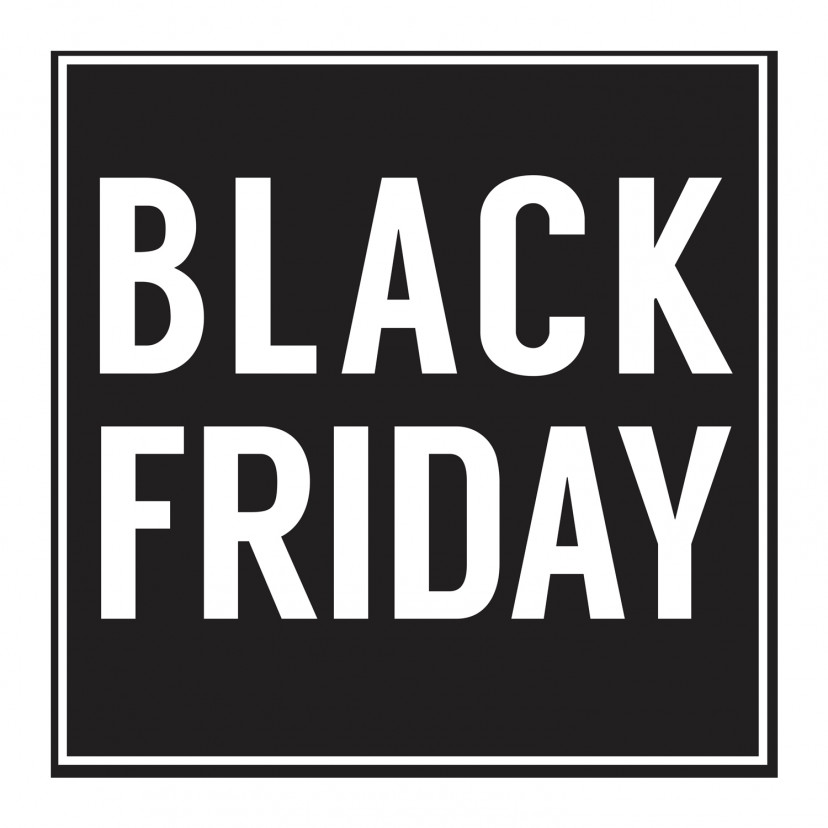 Vetrofania Black Friday Piccola