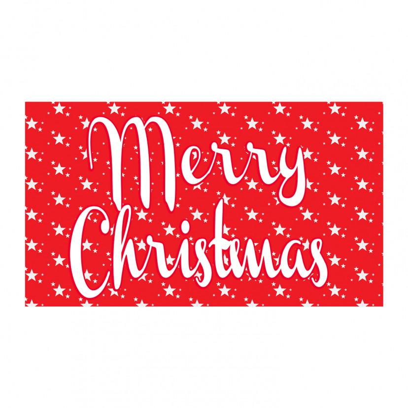 Vetrofania Merry Christmas
