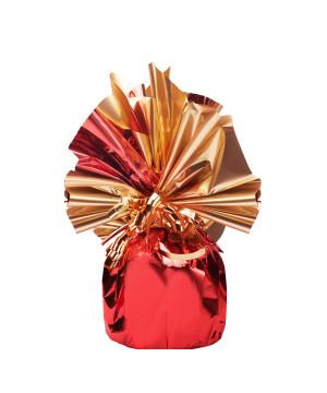 Bobina Incarto Pasticceria Bicolor Oro Rosso