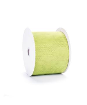 Bobina Tessuto Tulle Verde