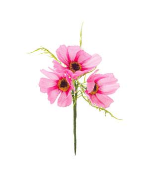 Pick Papaveri 3 fiori Rosa