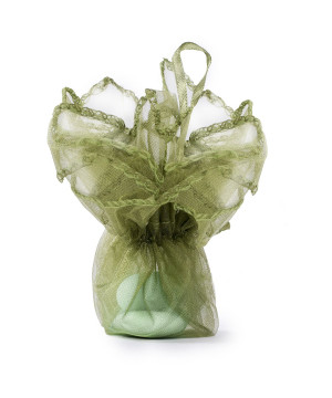 Sacchetti Bon Bon Organza Verde