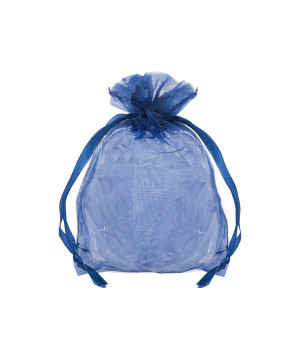 Sacchetti Organza Blu