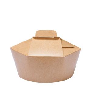 Food Box Esagonale in Cartoncino Avana