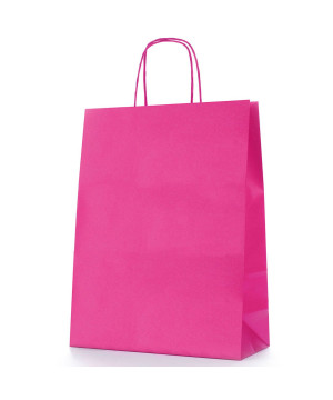 Shopper Carta Colorata Fucsia