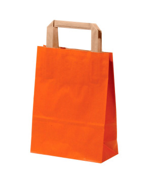 Shopper Carta Sealing Colorata Arancio