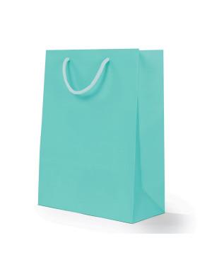 Shopper Carta Lusso Opaca Acquamarina