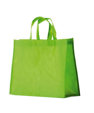 Shopper TNT Colorato Verde