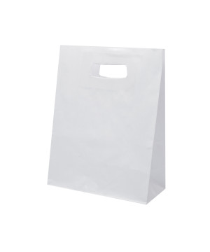 Shopper Carta Kraft Easy Bianco