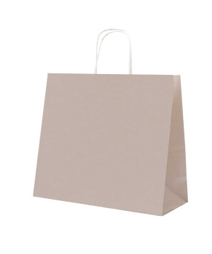 Shopper Carta Pastello Tortora